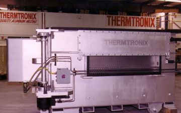 Thermtronix Low Pressure Atmosphere Aluminum Melting Furnace