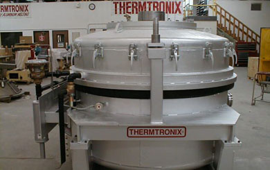 Thermtronix low pressure aluminum melting furnace
