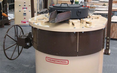 Magnesium melting furnace by Thermtronix